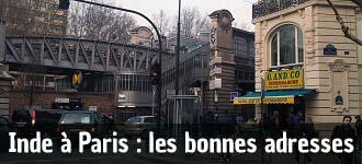 Les bonnes adresses de l'Inde à Paris